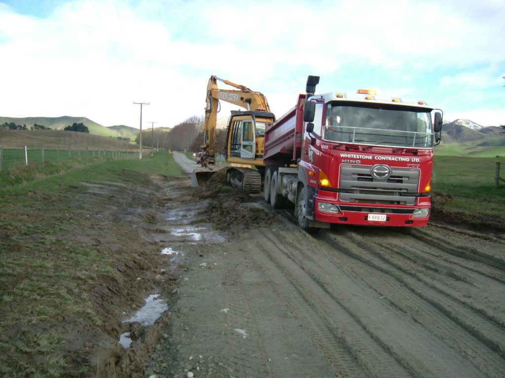 Widening the road