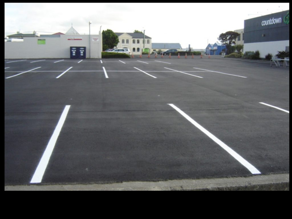 The new Countdown carpark